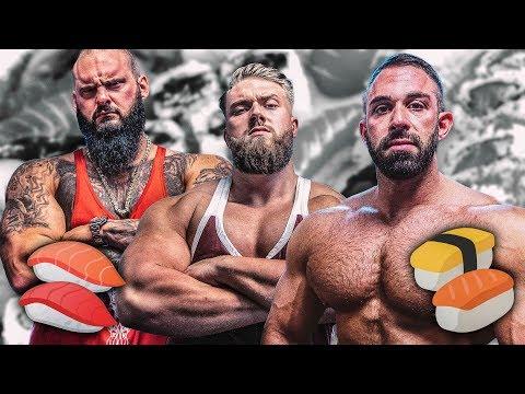 Bodybuilder vs Sushi Lieferdienst! Wer ist Rach die Stofftiere kommen!