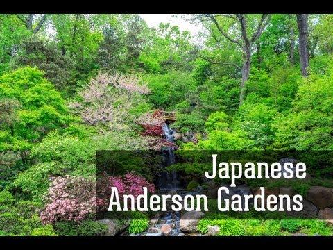 Чикаго город, Японские сады Андерсона около Чикаго