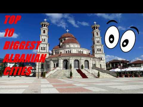 Top 10 Biggest Albanian Cities