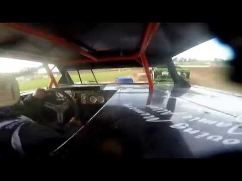 Spin To Win!!! Mercer RaceWay Park Heat Race. 7/5/14