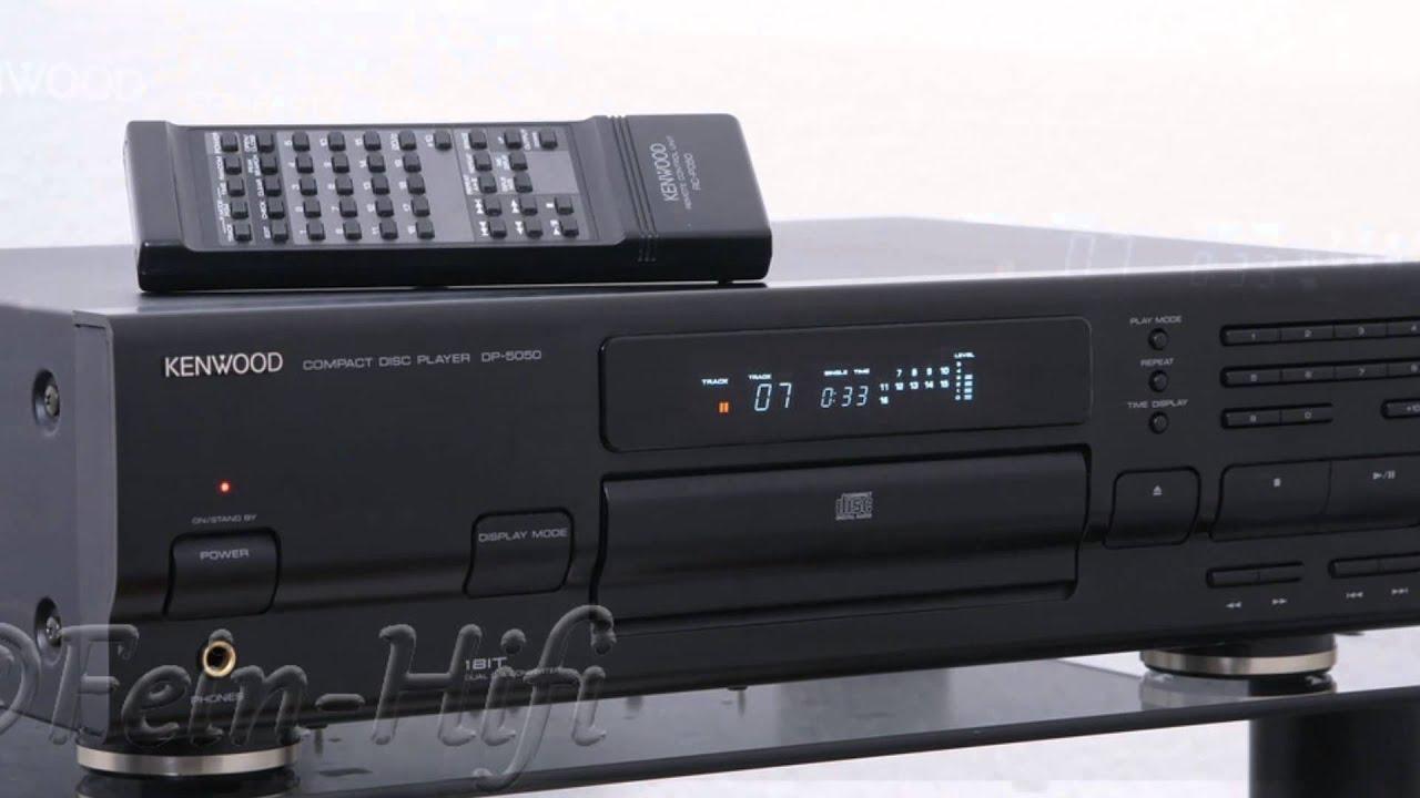 Kenwood Dp-5050 Hifi Cd-player