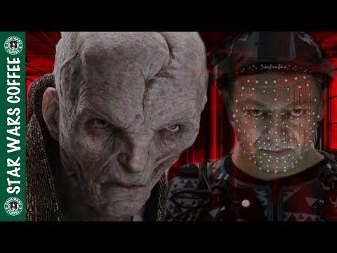 New Andy Serkis on Snoke! Force Powers & More!