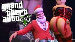 GTA V: Bad Santa (GTA 5 Online Funny Moments)