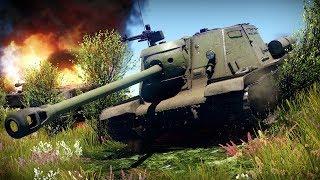 Обзор ИСУ-122С   Как развернуться на месте и не удалить игру?   War Thunder