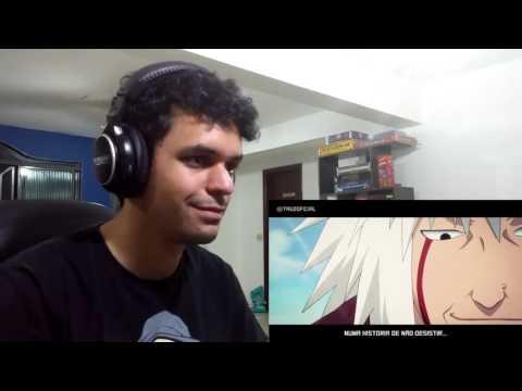 REACTION!!! #010 Rap do Jiraiya (Naruto) | (Tauz)