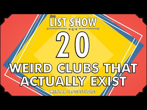 20 Weird Clubs That Actually Exist