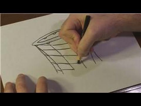 Drawing Lessons  How to Draw a Basketball Net - YouTube