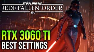 RTX 3060 Ti on Star Wars Jedi Fallen Order | 1080p, 1440p, 4K
