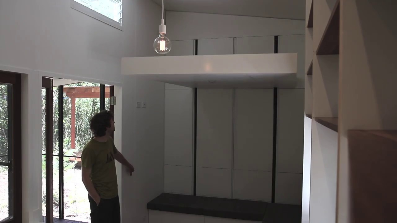 Retractable Bed For Tiny House Version 2 Nathan Nostaw