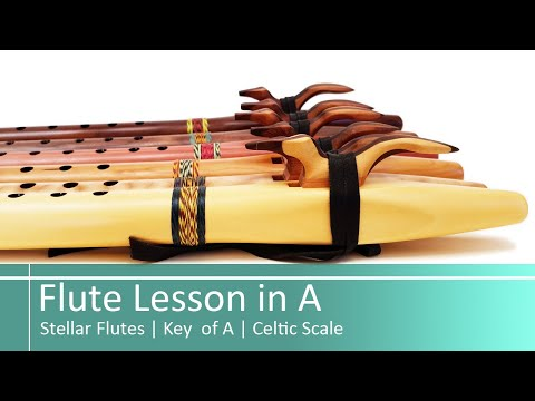 Stellar Flutes   Native American Flute Lesson   Easy Song In