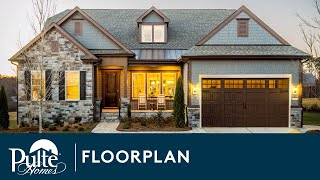 New Home Designs | Ranch Home | Tangerly Oak | Home Builder | Pulte Homes