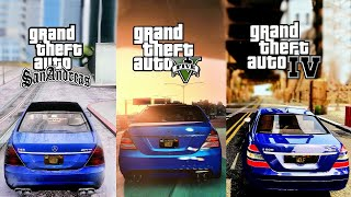 The Ultimate Realistic Graphics Comparison! GTA V 2018 Redux 1.3 vs GTA IV iCEnhancer vs SA MMG3