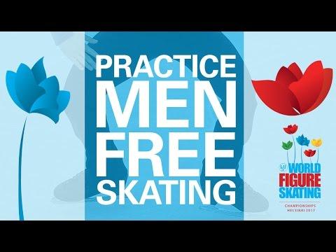 Men Free Skating Practice - Helsinki