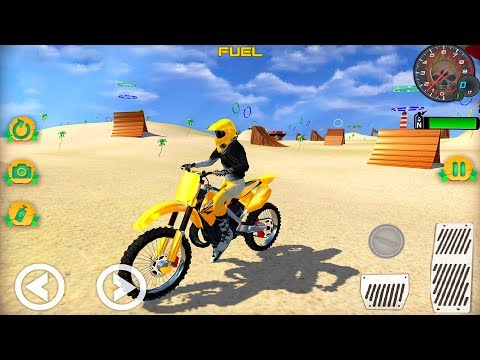 Motocross Beach Bike Stunt Racing #Dirt Motorbike Games #Free Download Games