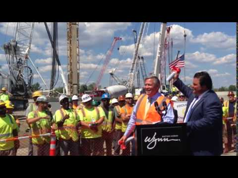 Wynn Boston Harbor Construction Starts