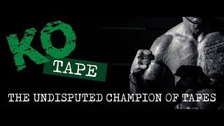 KO TAPE - THE UNDISPUTED CHAMPION OF TAPES - OFFICIAL LAUNCH VIDEO BY BBTV