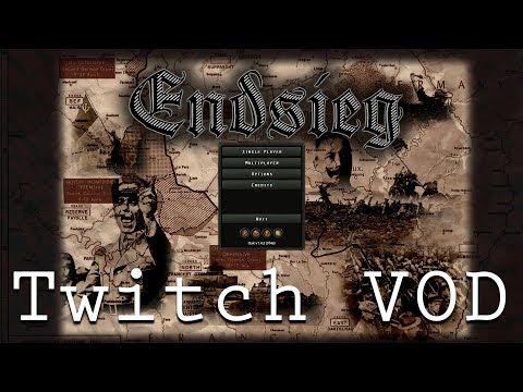 HOI4 Endsieg WW1 - Austria Hungary (Twitch Vod)
