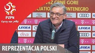 Konferencja po meczu z Czarnogórą (Podgorica, 26.03.2017)