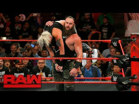 Braun Strowman demolishes Enzo Amore: Raw, Sept. 18, 2017