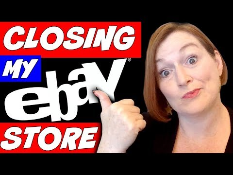 Why I'm Closing My Ebay Store - Am I Quitting Ebay Reselling?