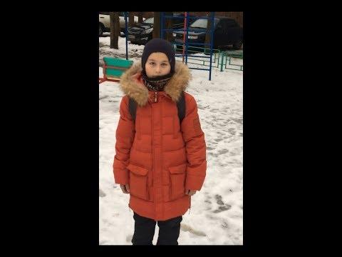 Зимний тёплый пуховик для мальчика. Крутая детская парка с Aliexpress. Одежда.