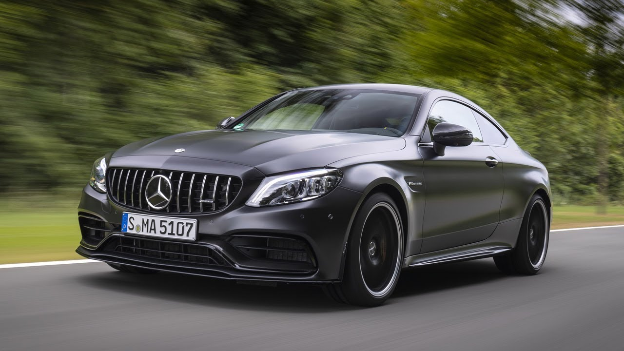 2019 Mercedes-AMG C 63 S Coupe - YouTube