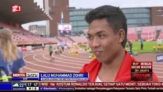Jadi Juara Dunia, Zohri Bangga Cetak Sejarah untuk Indonesia