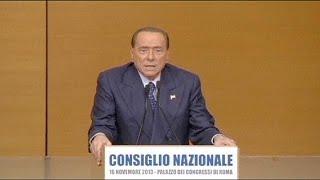 Партия Берлускони раскололась, экс-премьер лишился ближайшего соратника