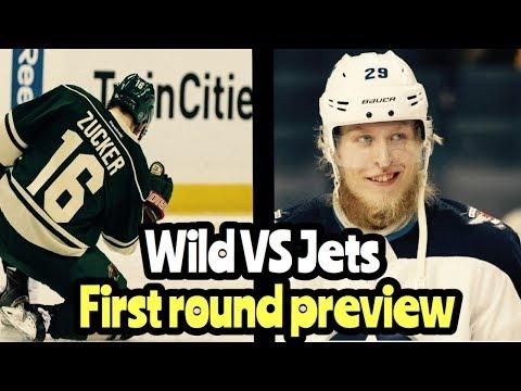 NHL Playoff Preview Winnipeg Jets VS Minnesota Wild