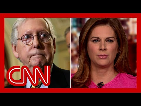 Erin Burnett: McConnell knows what he said is not true