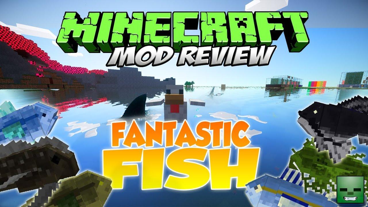 fantastic fish mod super peces forge 1 6 4 youtube. Black Bedroom Furniture Sets. Home Design Ideas
