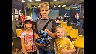 Робо Сумо первый детский чемпионат / RoboSumo first children