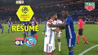 Olympique Lyonnais - RC Strasbourg Alsace ( 2-0 ) - Résumé - (OL - RCSA) / 2018-19
