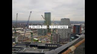 Roofing Premier Inn Manchester - 26 stories