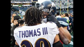 Bobby Wagner: Lamar Jackson best Seahawks by wisely recognizing man coverage, running on it