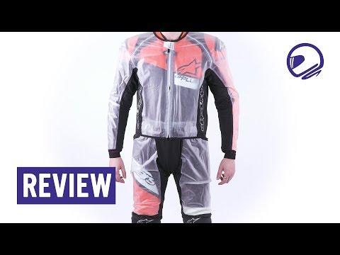 Alpinestars Racing Rain Regenjas & Regenbroek Review - MotorKledingCenter