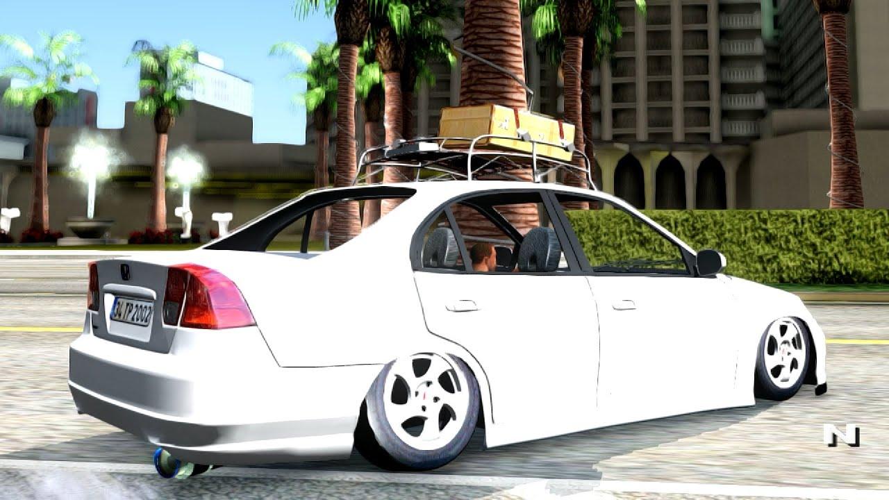 Honda Civic 2005 Murat Tuning Gta San Andreas