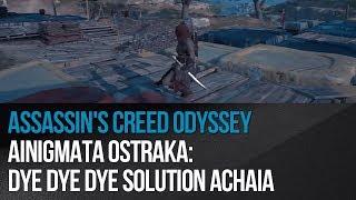 Assassin's Creed Odyssey - Ainigmata Ostraka: Dye Dye Dye solution Achaia