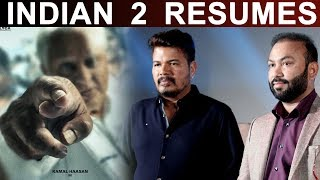 Indian 2 resumes