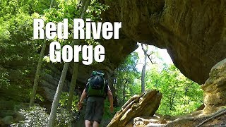 Backpacking Red River Gorge - Daniel Boone National Forest, Kentucky