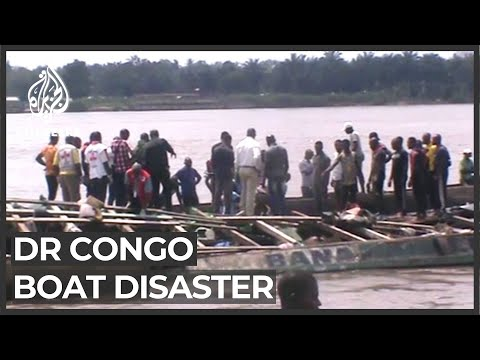 DR Congo boat carrying hundreds of people capsizes