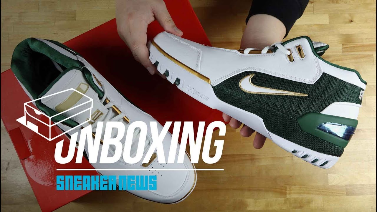 """d544aeae2211 Unboxing The Nike Air Zoom Generation """"SVSM"""" - YouTube"""