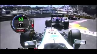 F1 Monaco 2013 Hamilton onboard lap