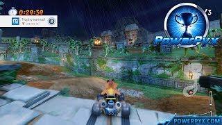 Crash Team Racing Nitro Fueled - Tiger Temple Shortcut (Let me in! Trophy Guide)