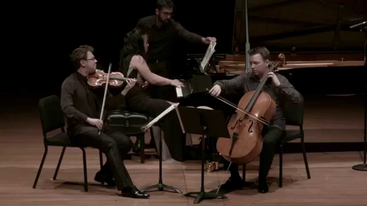 Brahms Piano Trio in C minor for Piano, Violin, and Cello, II. Presto non assai