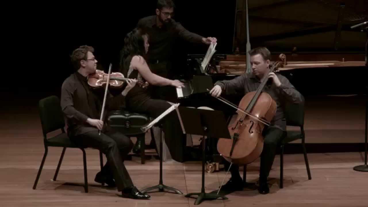 Brahms Piano Trio in C minor for Piano, Violin, and Cello, Mvt. II - CMS