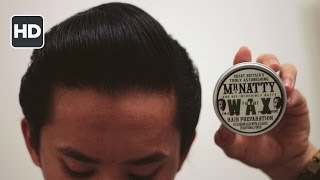 Mr. Natty Pomade Wax Review -- British Pomade