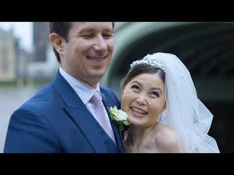 Fenny + Jean-Sebastien 2021 - Beautifully Classic Wedding in London - Shot on A7siii