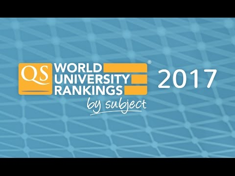 Out Now: QS World University Rankings by Subject 2017