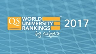 Out Now: QS World University Rankings by Subject 2017 thumbnail